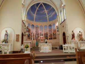 St. Mary's Catholic Church, Osmond, NE Photo courtesy of Monica Hessner